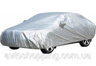 Тент, чохол для автомобіля Седан Vitol CC11106 ХL Сірий 534х178х120 см