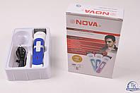 Универсальная машинка триммер для стрижки волос NOVA NHC-8001 с аккумулятором, фото 1