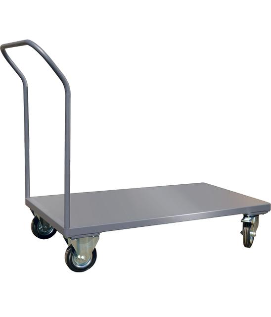 Тележки платформенные для склада, магазина и сто