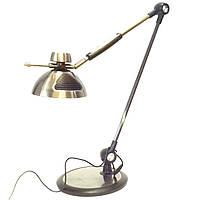 Светодиодная настольная лампа 10W 2700/4000*6000к с бесконтактным включением бронза