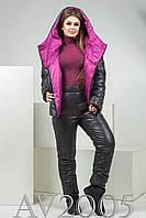 Зимний спортивный костюм: куртка + штаны