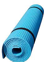 Коврик для фитнеса Polifoam (Полифом) бирюзовый (0,6х1,5м, толщ. 6мм)