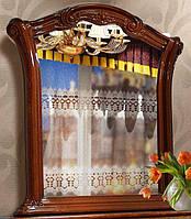 Зеркало Венеция Новая пино орех (Свiт Меблiв ТМ)