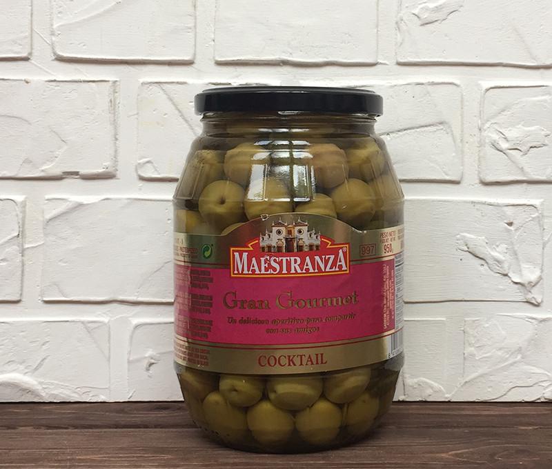 Зелені оливки з кісточкою Maestranza