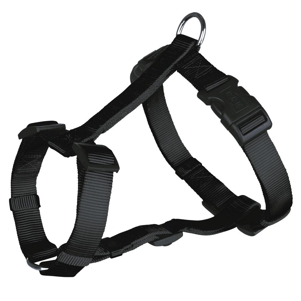 Шлея М-L 50-75 см Классик черная Trixie для собак