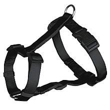 Шлея для собак Классик Trixie L-XL черная