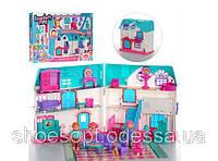 Кукольный домик со светом и звуком, мебелью и фигурками, фото 1
