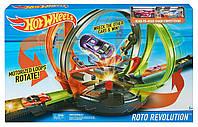 Трек Улётное вращение Hot Wheels моторизированный трек, фото 1