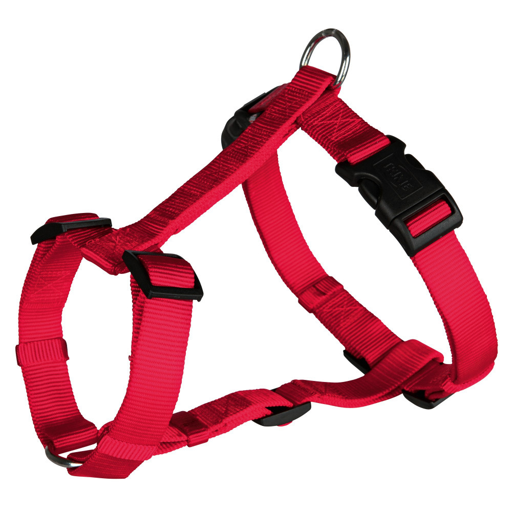 Шлея XS-S 30-40 см Классик красная Trixie для собак