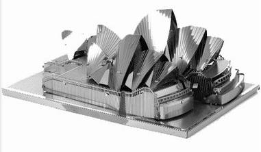 Металевий конструктор Сіднейська Опера 3 пластини