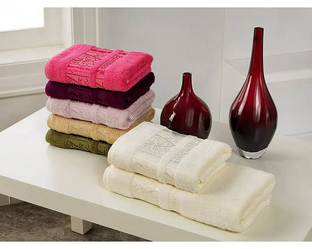 Махровое полотенце Cestepe Jasmine Bamboo Бамбук, фото 2
