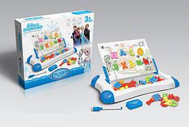 Магнітна дошка для навчання Same toy синя 009-2044BUt