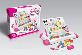 Магнітна дошка для навчання Same Toy рожева 009-2044CUt