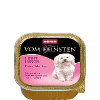 """Консервы Vom Feinsten """"С индейкой и ветчиной"""" 10/4 (для взрослых собак), 150г"""