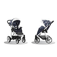 Прогулочная коляска Nico Синий/серый Bebetto  (503.23.17.SLW39)
