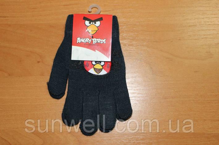 Рукавички для хлопчиків Angry Birds, 16см, фото 2