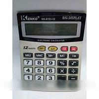Калькулятор настольный большой Kenko KK-8151-12, KENKO KK 8151-12A калькулятор