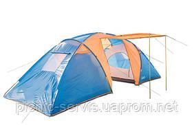 Coleman 1002 шестиместная кемпинговая палатка (Польша) двухкомнатная + тамбур