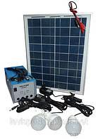 Солнечное зарядное устройство GDLITE GD 8018 Solar panel 18v 20w