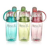 Бутылка для воды New.B 400 мл. Зеленая