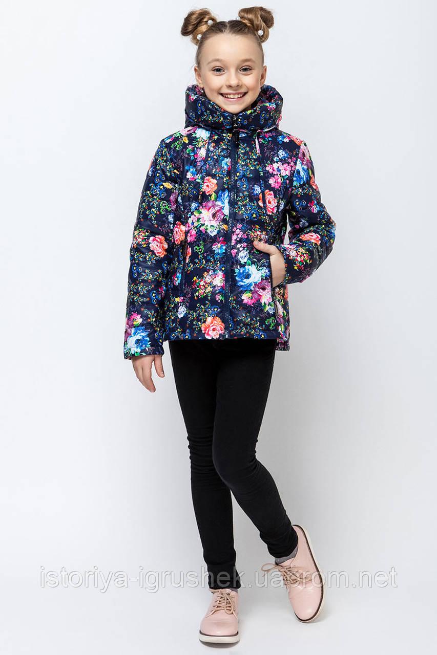Демисезонная куртка для девочки vkd-4 в ассортименте