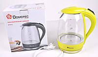 Электрический чайник(стекло) DT 810 Распродажа