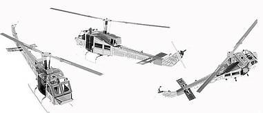Металевий конструктор Вертоліт UH-1 1 пластина