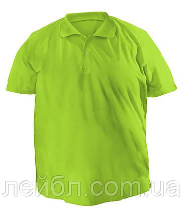 Большая футболку Polo - 7038 оливковый, фото 2