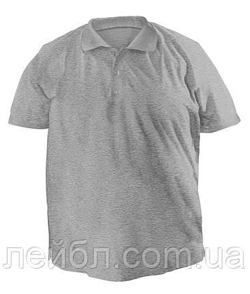 Футболку Polo велика - 7053 меланж, фото 2