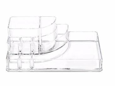 Пластиковый органайзер для косметики средний yh-1118