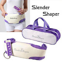 Вибромассажный пояс для похудения Slender Shaper