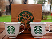 """Подарочный набор чашек """"Starbucks"""". 2011. Присутствует деффект"""