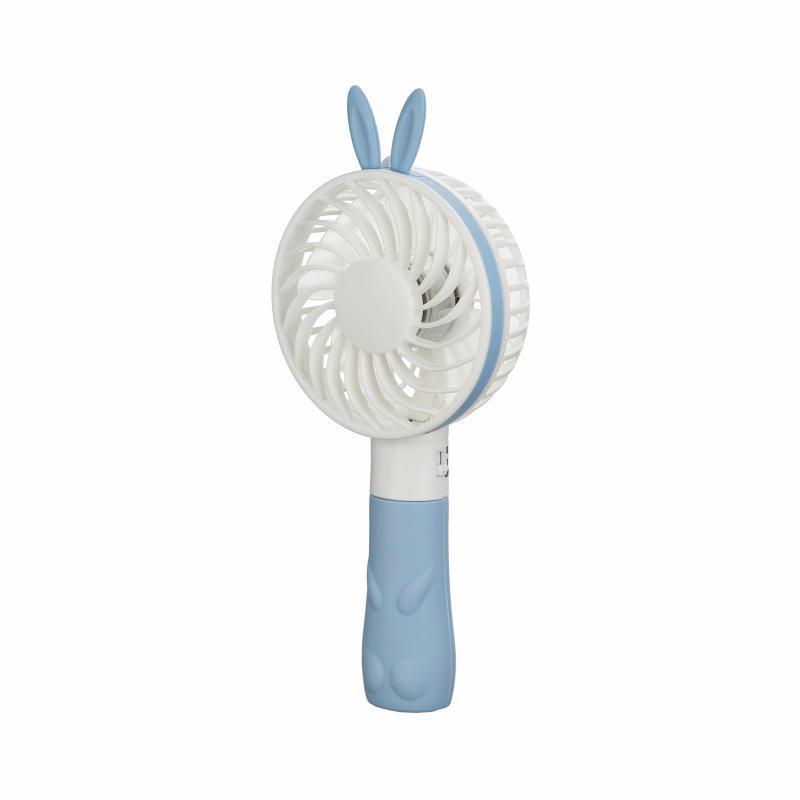 Портативный вентилятор Ушки. Голубой