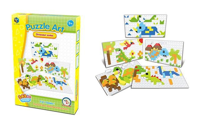 Пазл Puzzle Art Dinosaur serias 243 эл. 5991-5Ut