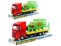 Трейлер 299-13-14 (72шт) інерційний, 29см, трактор з причіпо, 2види  33-13-9см