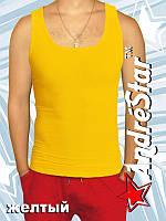 Майка мужская - желтый2908