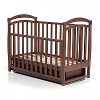 Детская кроватка Верес Соня ЛД-6 Орех (ящ.+ маят.) 06.03
