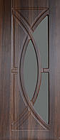Дверь межкомнатная остекленная Фантазия (Статус-коньяк)