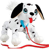 Интерактивная игрушка Веселая прогулка  Далматинец 28 см Peppy Pets (245284)