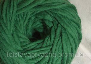 Товста пряжа Крос (зелений), фото 2