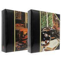 Самоклеющийся фотоальбом poldom drs50 retro 23x28 см на 100 страниц