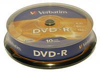 "Диск DVD-R ""Verbatim""(б/кор. 10шт.)"