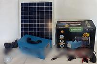 GD 8018 Портативный аккумулятор c солнечной батарей, 3 светодиодные лампы, и универсальный переходник GDLITE, фото 1