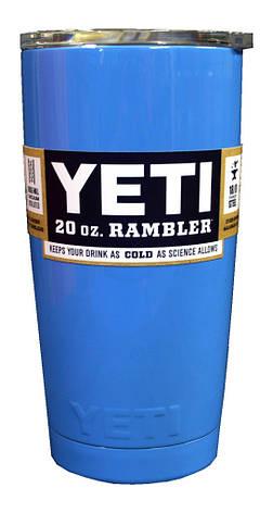 Термокружка YETI Rambler Tumbler 20 OZ Синий, фото 2