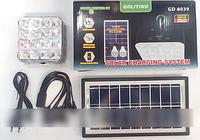 Аккумулятор GD 8039 солнечная панель, аккумулятор на солнечной батарее
