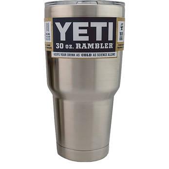 Термокружка YETI Rambler Tumbler 30 OZ Сталь, фото 2