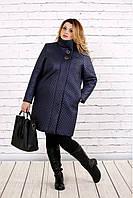 Пальто з плащової тканини для великих жінок, з 42-74 розмір, фото 1