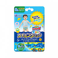 Подгузники-трусики для плавания для мальчиков  от 12 кг 3 шт Goo.N (853036)