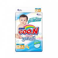 Подгузники M для детей 6-11 кг унисекс 64 шт  Goo.N (853075)