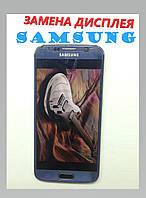 Замена  дисплейного модуля  Samsung Galaxy S6
